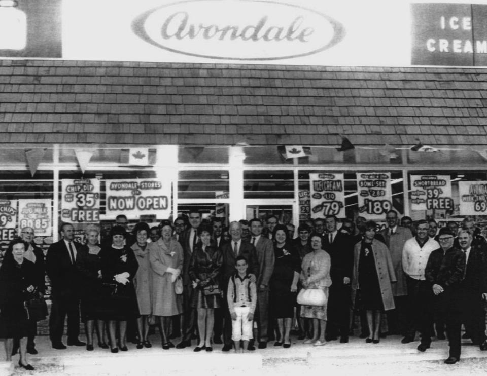 Avondale staff photo circa 1960s