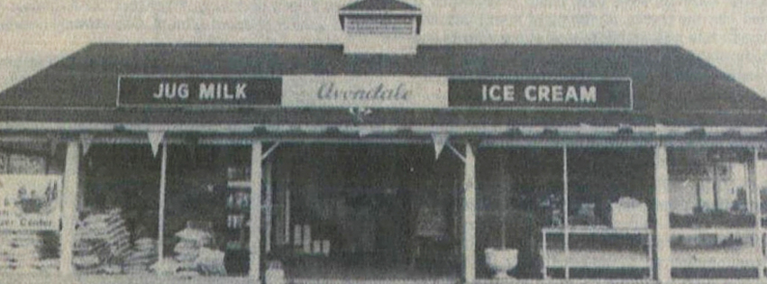 Avondale store front circa 1960s