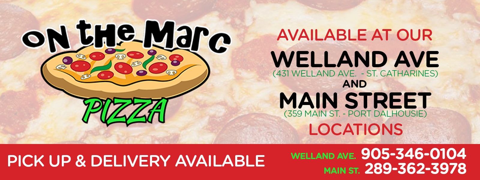 On The Marc Pizza